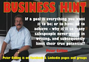 business-goal-in-writing